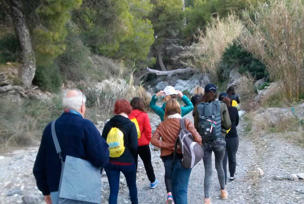 Rutas para senderistas Granada