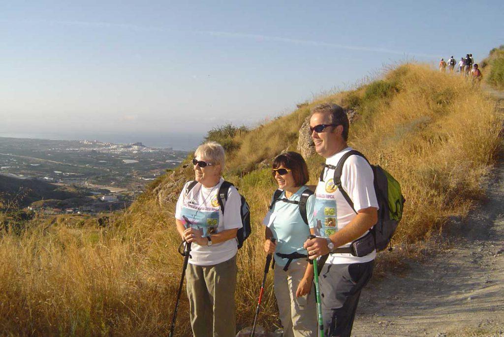 Rutas a pie en Granada