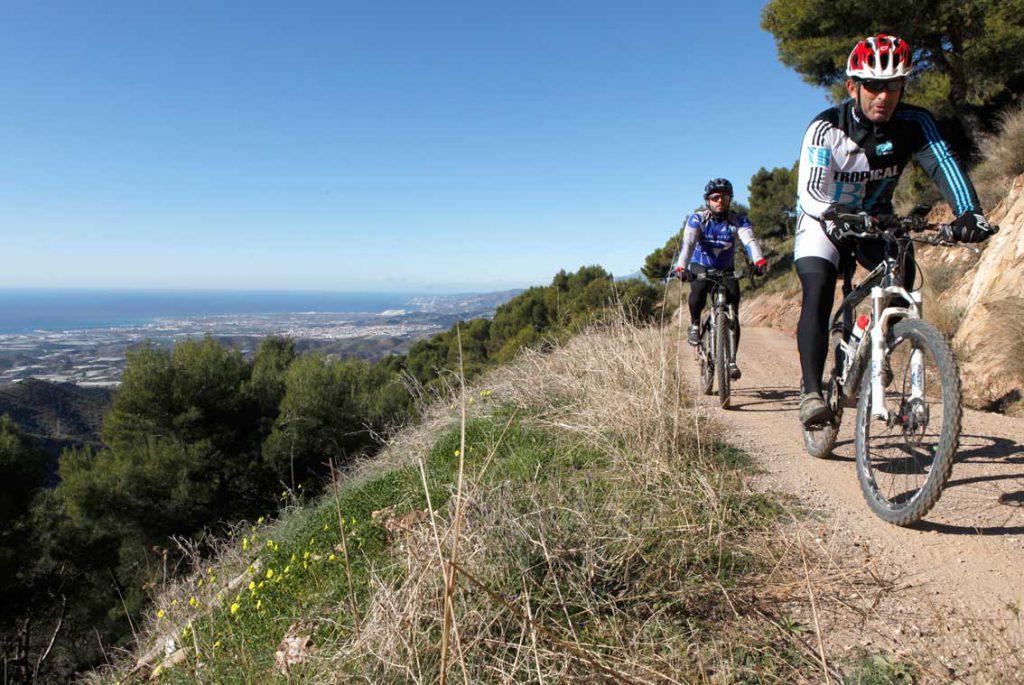 Rutas para Ciclistas MTB en Granada