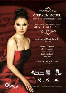 opera en motril homenaje a Montserrat caballé