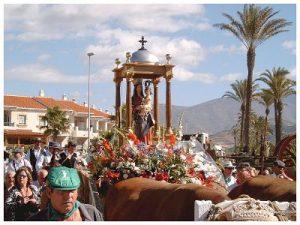 Romeria del Sur Salobreña. Virgen del Rosario.