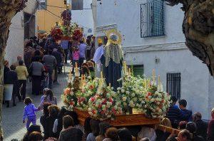 Virgen de la Candelaria. Romería Lobres-Salobreña