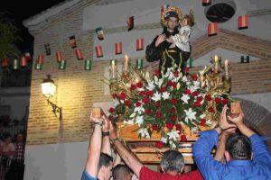 Fiestas de San Antonio en Lobres-Salobreña