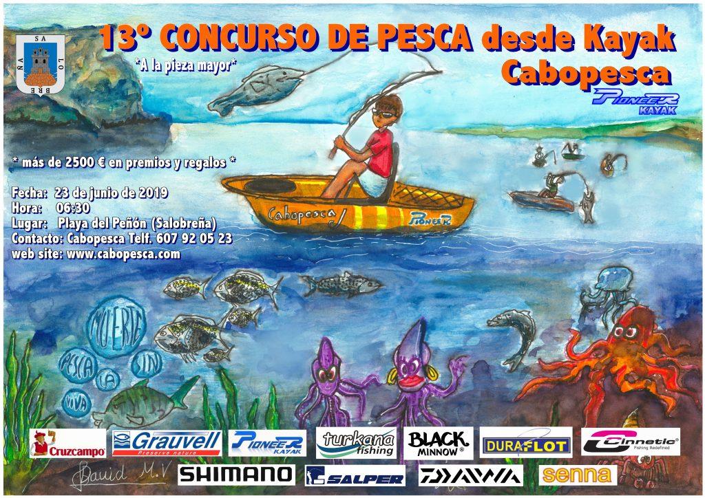 Concurso Pesca en Kayak en Salobreña